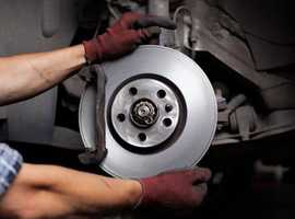 BRAKE DISCS & PADS REPLACED AT YOUR HOME  MOBILE SERVICE