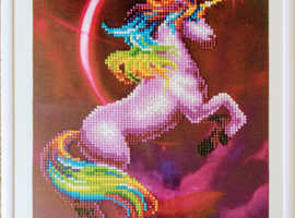 Diamond Painting Art Of A Unicorn|Easter| Personalised Crafts|Gifts|Fundraising Appeal|Gifts