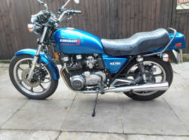 lovley 750 kawasaki kz ,original  condition being used daily