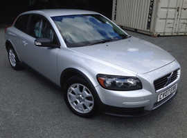 Volvo C30 Sport, 2007 (07) Silver Hatchback, Manual Petrol, only 110,000 miles
