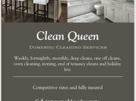 Clean Queen Domestic Cleaning Services