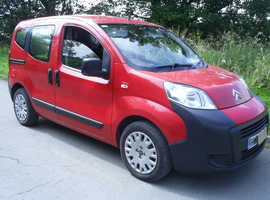 Citroen Nemo Multispace, 2009 (59) Red, Manual Diesel, 64,000 miles £30 road tax per year