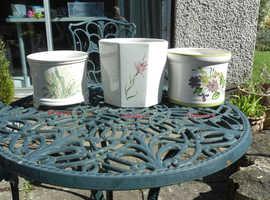 Ceramic House Flower Pots