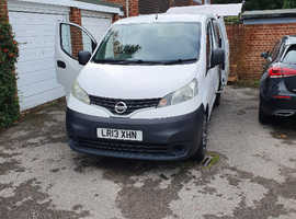 Nissan NV200 White panel van
