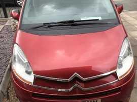 Citroen C4, 2008 (08) Red MPV, Manual Diesel, 92,000 miles