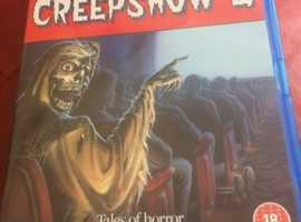 CREEPSHOW 2 DELETED/ RARE BLU RAY FROM 88 FILMS