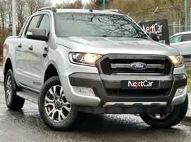 2017 Ford Ranger 3.2 TDCI WildTrak Double Cab 4×4 Auto Pick Up Very Low Mileage Pick Up....with No Vat !!