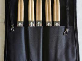 ddrum drumsticks and case