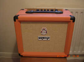Orange Crush 20RT Guitar Amplifier with Reverb & Tuner