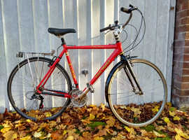 ecellent quality classic bike for a keen tall rider ; city or trails .