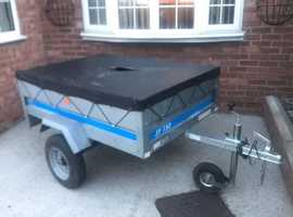 Larger Erde sy150 trailer 5ft x 3ft 6""