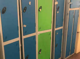 Coloured Single Bay Lockers
