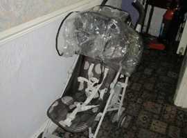 fold down push chair