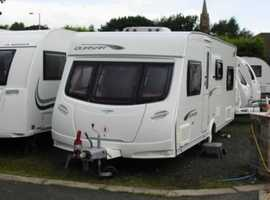 Spacious 6 Berth Tourer with Separate Shower