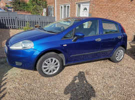 Fiat Grande Punto, 2009 (58) Blue Hatchback, Manual Petrol, 93,383 miles