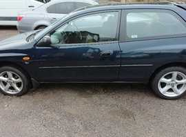 Mazda 323, 1997 (P) Green Hatchback, Manual Petrol, 66,871 miles