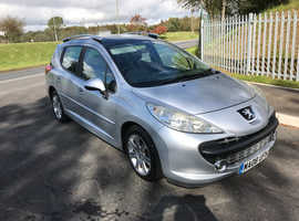Peugeot 207, 2008 (08) Silver Estate, Manual Diesel, 107,844 miles