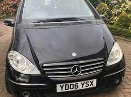 Mercedes A-CLASS, 2006 (06) Black Hatchback, Cvt Diesel, 126,392 miles