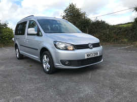 VW Caddy Maxi Auto. 7 seats, Wheelchair accessible.1 owner full VW history.