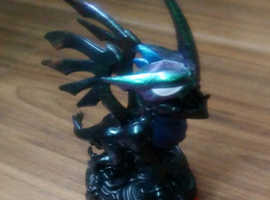 RARE Skylander Trap Team Blackout Character