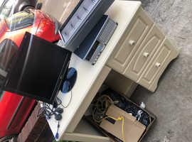 Desk & working pc