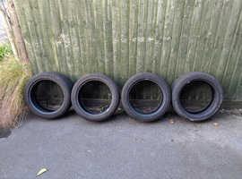 Goodyear Eagle Ultra Grip part worn runflat winter tyres 17'' (set of 4)