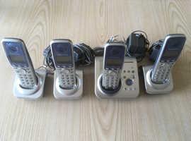 Panasonic Four Phone Digital Cordless Answering System