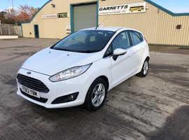 Ford Fiesta, 2013 (13) White Hatchback, Manual Petrol, 41,000 miles
