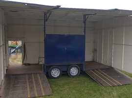 Exhibition / Mobile Display Trailer Market stall