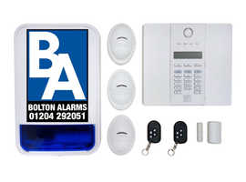 Pro Wireless pet friendly alarm £350 fitted
