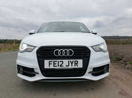 Audi A1, 2012 (12) White Hatchback, Manual Diesel, 78,000 miles
