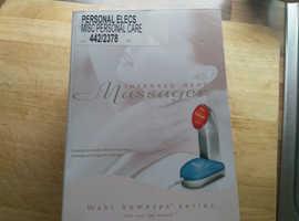 Infrared heated massager