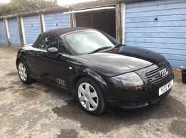 Audi TT ROADSTER, 2001 (Y) black convertible, Manual Petrol, 102689 miles