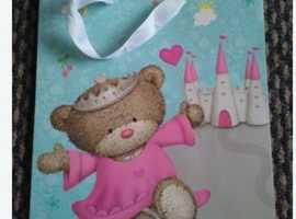 Hugs Princess Bear Gift Bag