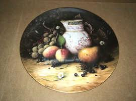 Coalport Still Life Fruit Plate - 10 inch