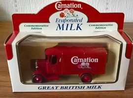 Lledo Days Gone Carnation Milk Commemorative Morris Van