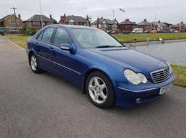 Mercedes C CLASS, 2003 (53) Blue Saloon, Automatic Diesel, 219,119 miles