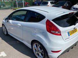 Ford Fiesta 1.6 Zetec S 2009 (58) White Hatchback, Manual Petrol, 94,099 miles