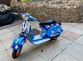 LML 200 4t scooter