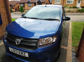 Dacia Sandero, 2013 (13) Blue Hatchback, Manual Petrol, 76,000 miles
