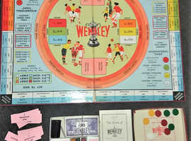 Wembley board game vintage attic find