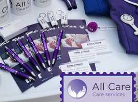 Care Assistant - £300 welcome Reward and guaranteed hours!