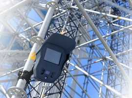 Construction site security camera hire