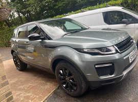 Land Rover Range Rover Evoque, 2015 (65) grey estate, Manual Diesel, 56,754 miles