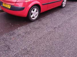 Renault Megane, 2007 (07) Red Hatchback, Manual Petrol, 39,372 miles