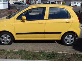 Chevrolet Matiz. 2,200 miles. Immaculate condition.