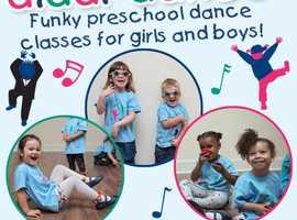 diddi dance classes for pre-school children