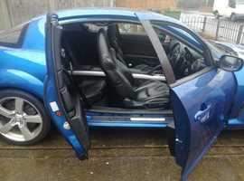 Mazda RX-8, 2006 (06) Blue Coupe, Manual Petrol, 83,000 miles