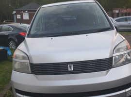 Toyota 2000, 2002 (02) silver mpv, Automatic Petrol, 85000 miles