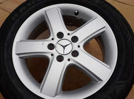 Genuine Mercedes Benz Alloy wheel with Brand New Tyre